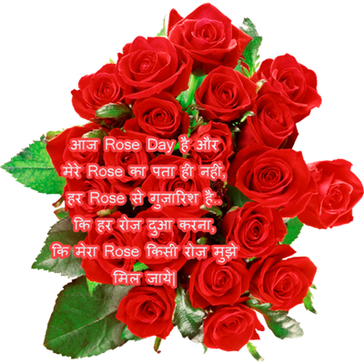 Happy Rose Day Photo In Hindi