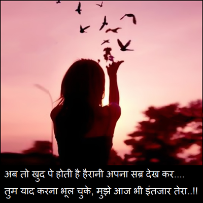 2 Line Shayari In Hindi With Images